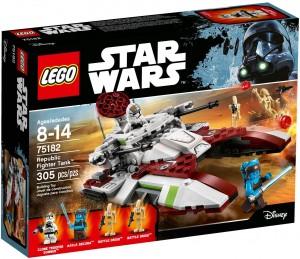 Конструктор LEGO Star Wars TM Бойовий танк Республіки