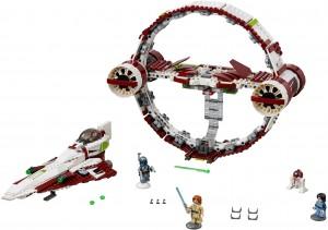 Конструктор LEGO Star Wars TM Зоряний винищувач джедая з гіперприскорювачем